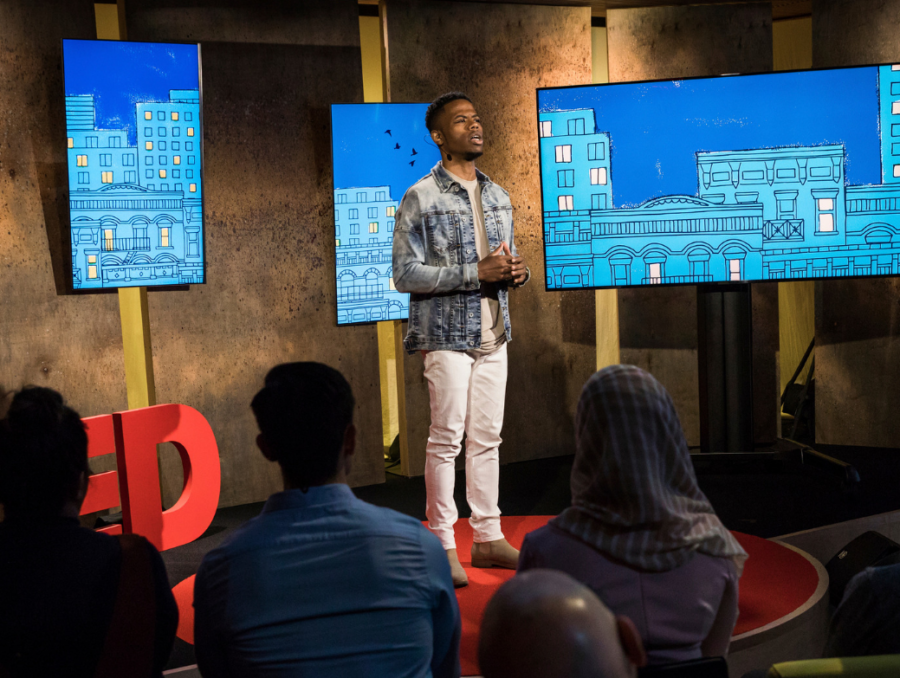 Derrius Quarles BREAUX Capital TED Talk