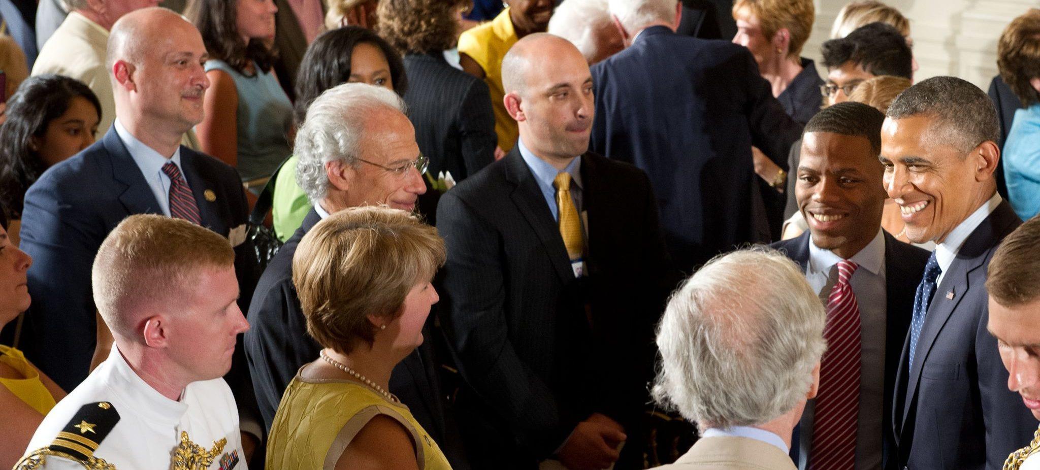 Derrius Quarles Honored By 43rd President President Barack Obama